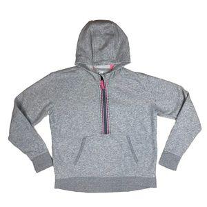 Athleta Girl Grey Sweatshirt with Hood